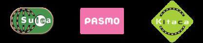 Suica,PASMO,Kitaca
