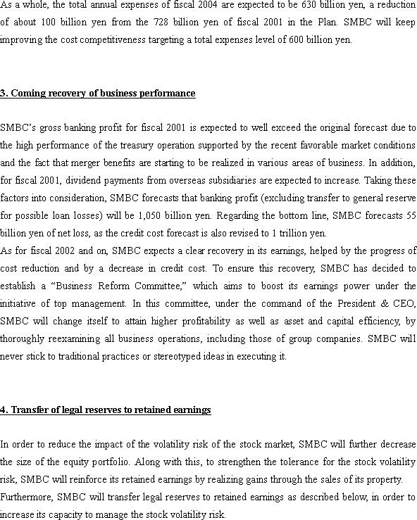 Financial Strategy of Sumitomo Mitsui Banking Corporation(3/4)